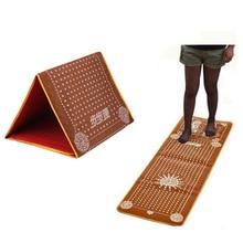 цены Foot Acupoint Massage Mat Promote Blood Circulation Imitating Pebble Stone Foot Pad Feet Fitness Health Care Tool