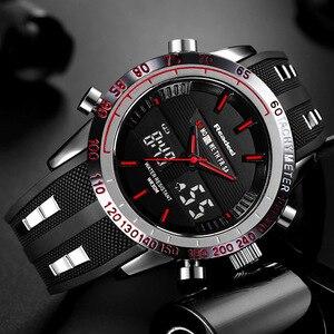 Image 1 - Montre de Sport de marque Readeel pour hommes montres haut de gamme de luxe pour hommes montre bracelet étanche à LED électronique numérique pour hommes relogio masculino