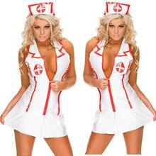 8e08cd19c مثير ازياء غريبة المرأة تأثيري ممرضة موحدة اللباس الزي امرأة السيدات يتوهم  ديزي الكورسيهات هالوين الأسود
