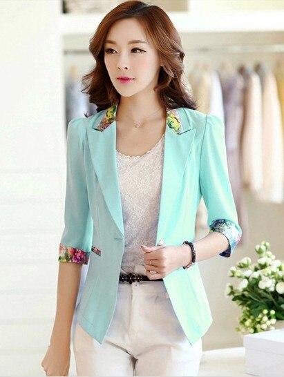 Chaqueta mujer ropa de abrigo 2015 verano delgado elegante chaqueta ...