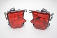 1 Pair Red Rear Bumper fog lamp light Tail Light For Subaru outback 2010 2014