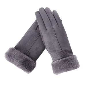 Female Gloves Mitts Autumn Winter Cute Screen-Luvas Warm Full-Finger New-Fashion Sport