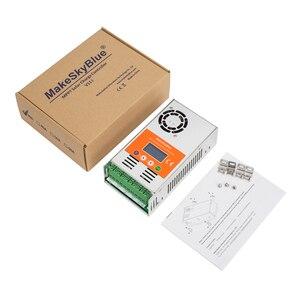 Image 3 - Makeblue controlador de carga solar mppt, controlador de carga solar mppt versão v118, 30a, 40a, 50a, 60a, display lcd para 12v, 24v, 36v regulador de bateria 48v dc