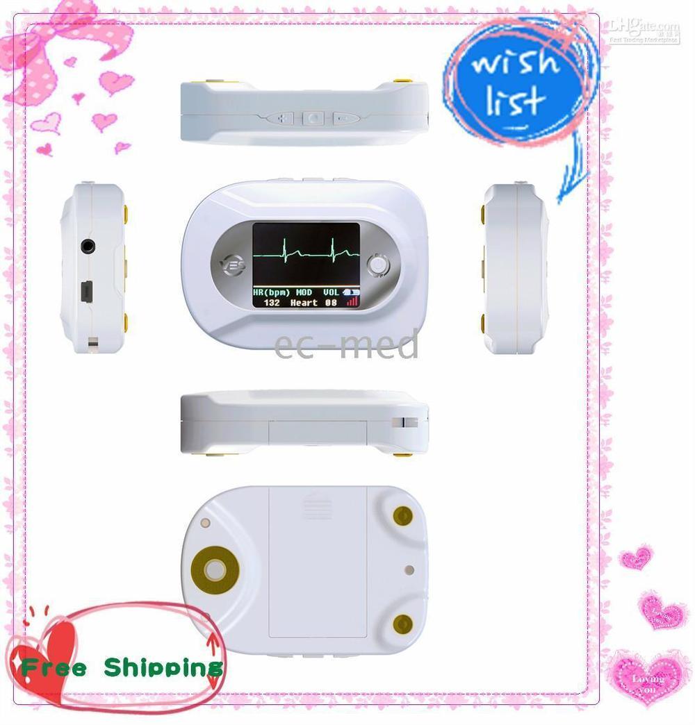 Wholesale - Stethoscope-Visual Electronic Stethoscope ECG + Free PR SpO2 probe(CMS-VE)--CE certified цены онлайн