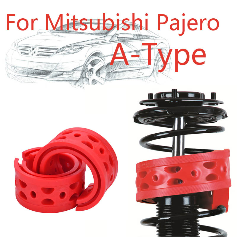 Jinke 1pair Size-A Rear Shock SEBS Bumper Power Cushion Absorber Spring Buffer For Mitsubishi Pajero