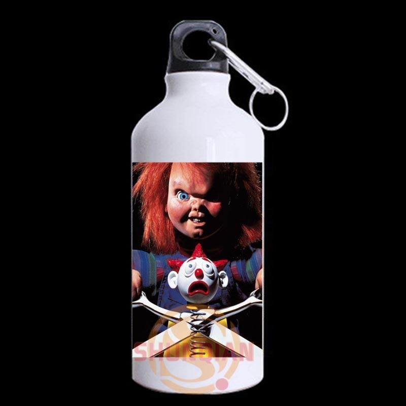Custom <font><b>Curse</b></font> of Chucky Mug mental sports water bottles 13.5 OZ Unique design for outside Sport <font><b>Cup</b></font> Y1017#q1