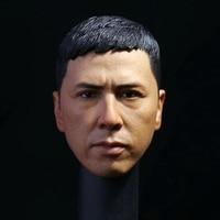 Head Sculpt 1/6 Donnie Yen Head Sculpt 3.0 Yip Ip Man 3 for 12 Inches Men's Bodies