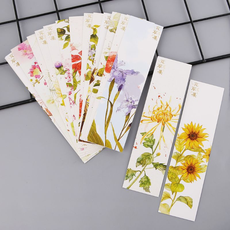 Best Offer F17e 30pcs Creative Chinese Style Paper Bookmarks