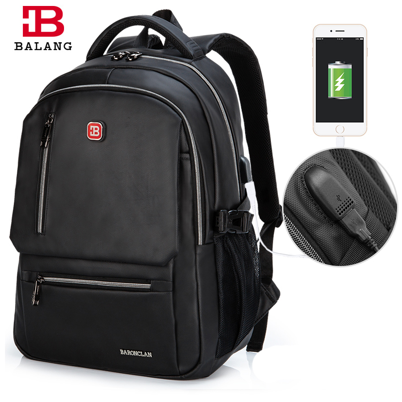 BALANG Casual Rucksack College Waterproof Oxford Notebook Backpacks Laptop Backpack for men 15.6 Inch School Bags Fashionable 14 15 15 6 inch oxford computer laptop notebook backpack bags case school backpack for men women student
