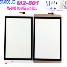 Starde For Huawei Mediapad M2 8.0 M2-801L M2-802L M2-803L M2-801 Touch Screen Digitizer Panel Glass Sensor with Free Tools цена и фото
