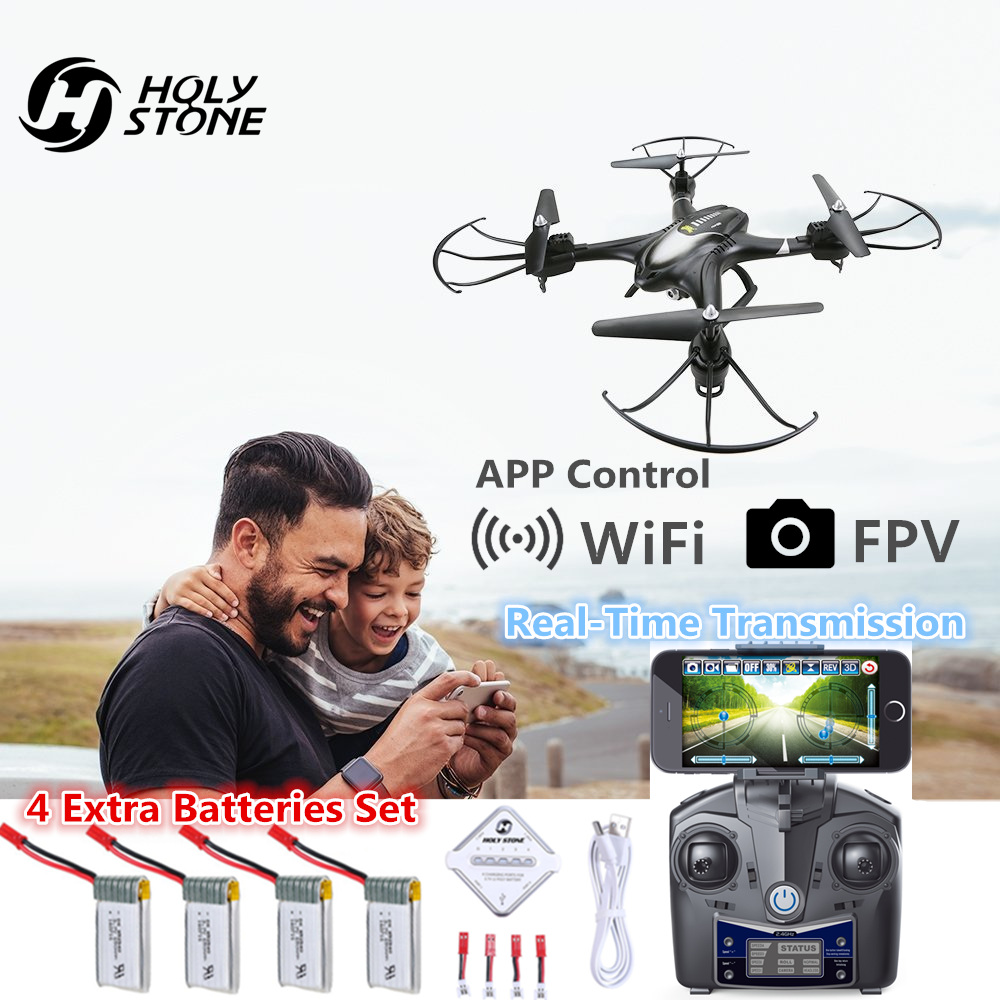 Holy Stone HS200 Drone with Camera HD Wifi FPV Video RC Helicopter 6-Axis Gyro Quadcopter APP Gravity Sensor Headless Mode Toy mini drone with camera hd rc helicopter remote control quadcopter headless mode 2 4ghz 30w aircraft toy for adult child gifts