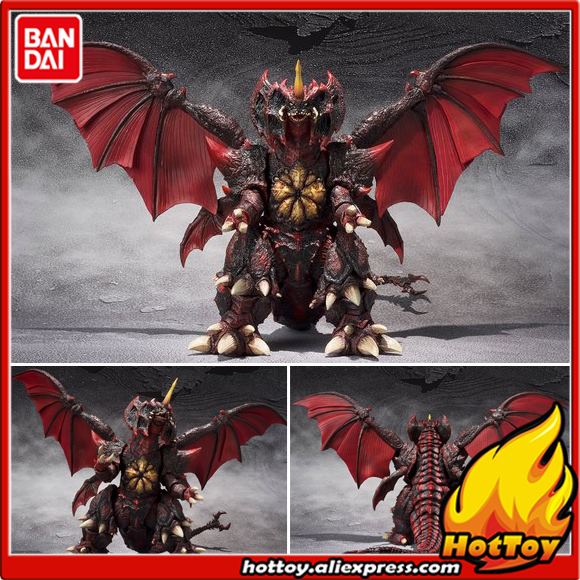 100% Original BANDAI S.H.MonsterArts (SHM) Exclusive Action Figure - Destoroyah Special Color Ver. from Destoroyah VS Godzilla tt tf ths 02b hybrid style black ver convoy asia exclusive