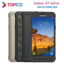 Samsung galaxy s7 ativo telefone celular original g891a, 4g android quad core 5.1