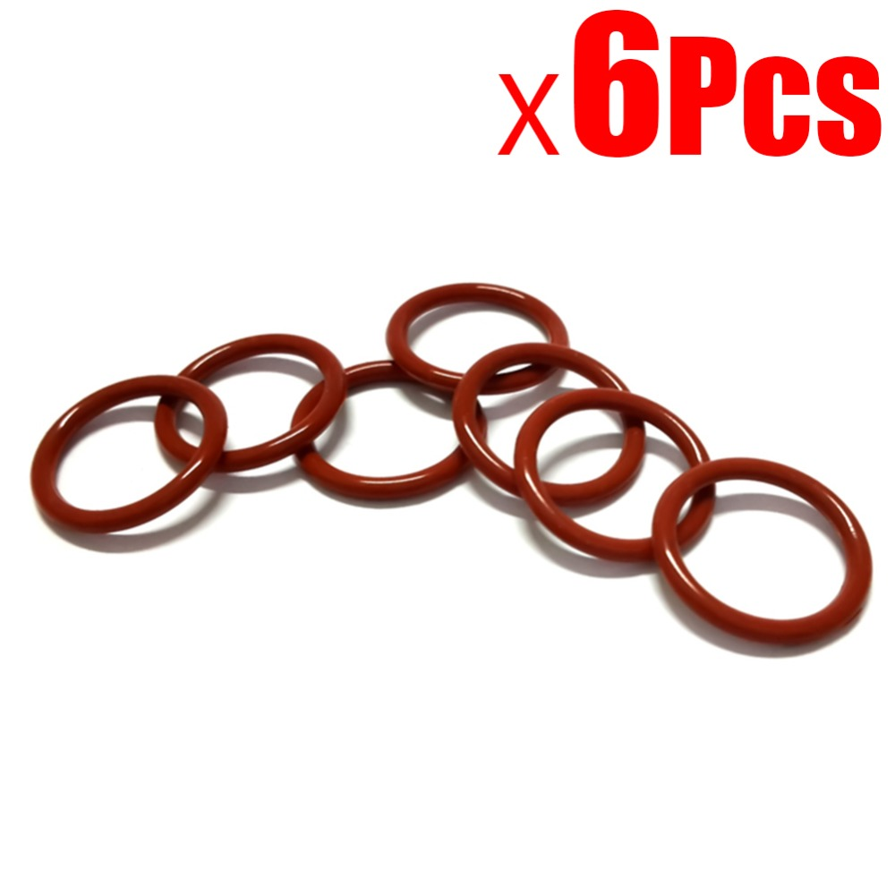 6Pcs NEW Robot Cleaner Parts Vacuum Series Red Rubber Belt For Neato BotVac Series Belt By The Side Brush
