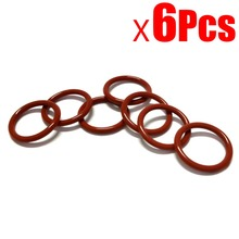 6Pcs NEW robot cleaner parts Vacuum Series Red Rubber Belt for Neato BotVac series belt by the Side brush цены