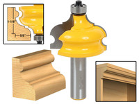 New Arrive Wood Cutter Classical Bead Molding Edging Router Bit 1 2 Shank End Mill Router