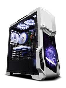 KOTIN Z2 Gaming PC Intel I7 9700K GTX1060 6GB GPU 120GB SSD 1TB HDD Gaming Desktop ASUS B360M 8GB RAM Computer PUBG 4 fans