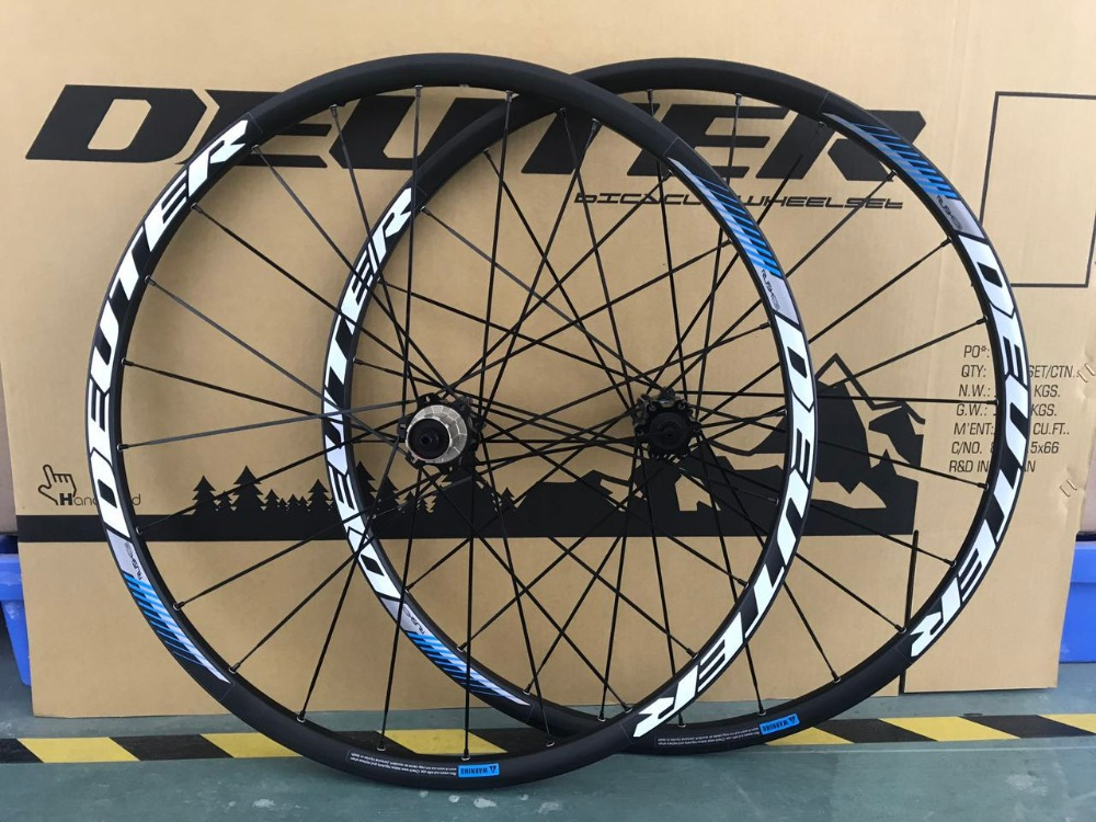 11 Speed 26 / 27.5 / 29 ER MTB Wheel set CNC Aluminum Alloy Rim Mountainbike Wheels 24H Front & Rear 4 Bearings Bicycle Parts 1set front and rear 700c road bike wheel bicycle magnesium alloy three spokes parts integrated wheel fixed gear single speed