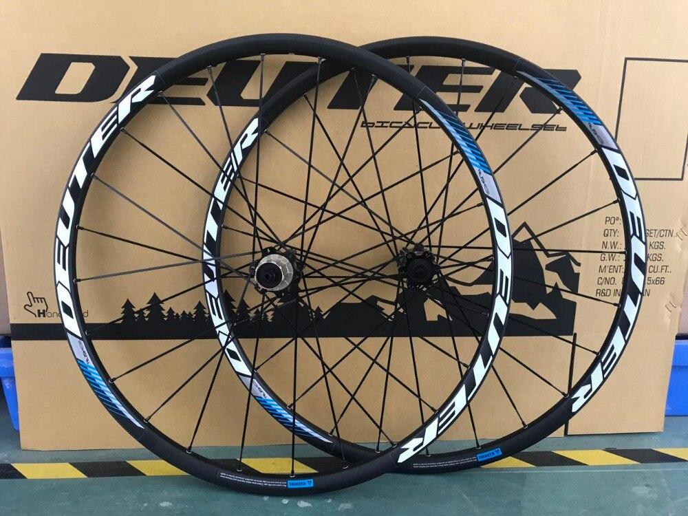 11 Speed 26 / 27.5 / 29 ER MTB Wheel set CNC Aluminum Alloy Rim Mountainbike Wheels 24H Front & Rear 4 Bearings Bicycle Parts