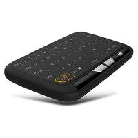 Mini Kablosuz Klavye 2.4G Tam ile El Touchpad Oyun Klavye Fare için Windows Android/Google/Smart TV Linux Windows