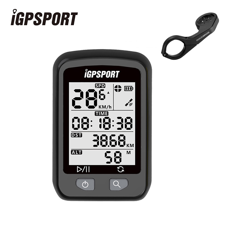 iGPSPORT Wireless Bicycle Speedometer Smart GPS IPX6 Waterproof MTB Cycling Stopwatch <font><b>Computer</b></font> Bikes Accessories Out-Front Mount