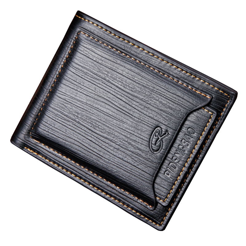 Pidengbao Brand New Men's Purse Card Wallet Vintage Value Leather Money Wallet Short Wallet With Gift Box Free Shipping