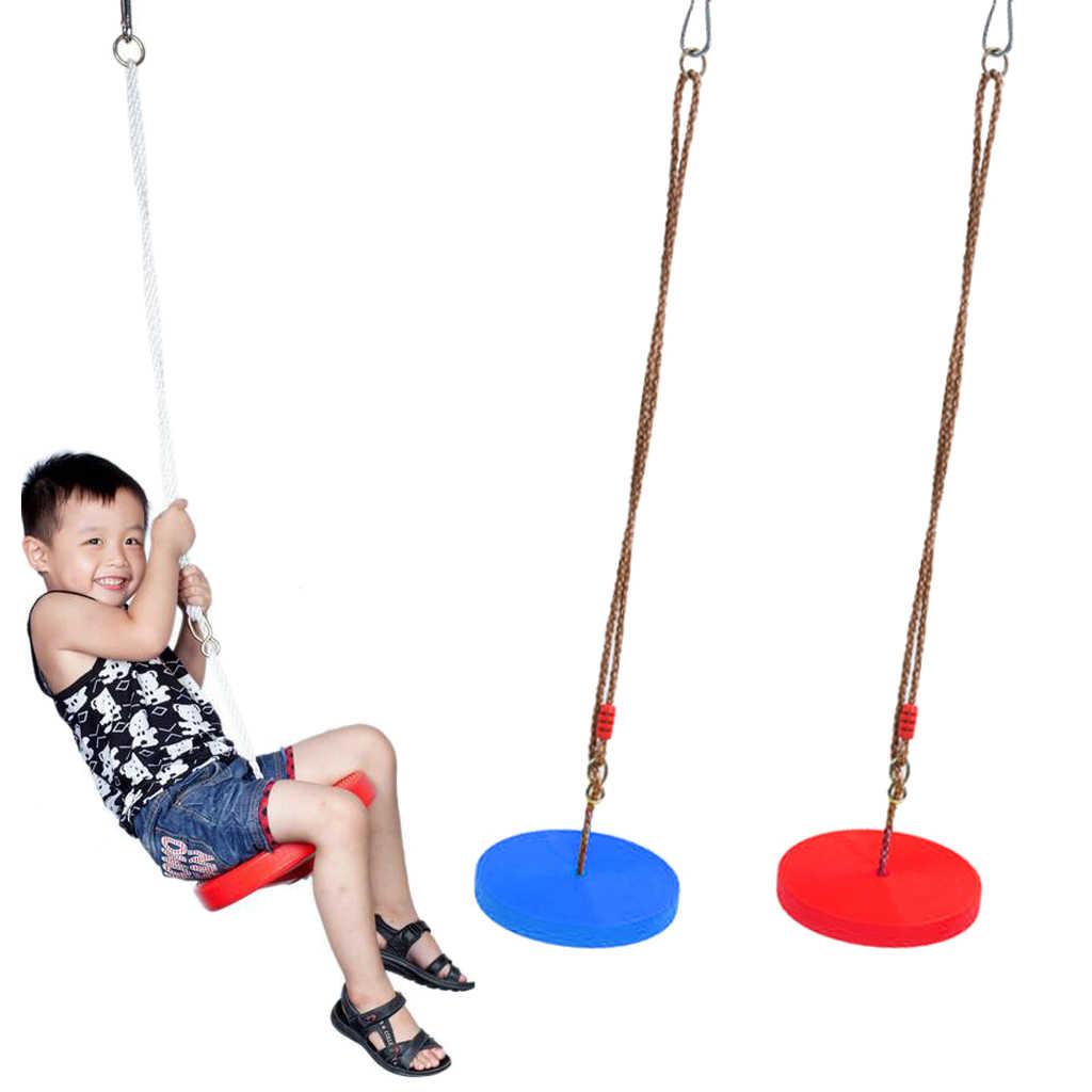 2 шт. дети/Дети на открытом воздухе дерево подвесное сиденье обезьяна диск качающаяся корзинка аксессуары для сада игровая площадка игрушка для парка