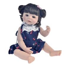 55 cm Reborn Baby Doll waterproof silicone girls Toys Vinyl skin Toddler Babies Dolls Alive Birthday Gift doll Fast delivery realistic 55 cm silicone reborn baby doll girl vinyl body babies dolls blonde hair princess waterproof toys alive bebe gift