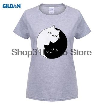 men fashion brand t shirt Kitten Kittens T Shirt Meow I Love Cats Crazy Lady Sweet Yin Yang Unicorn Tops Tee Shirts