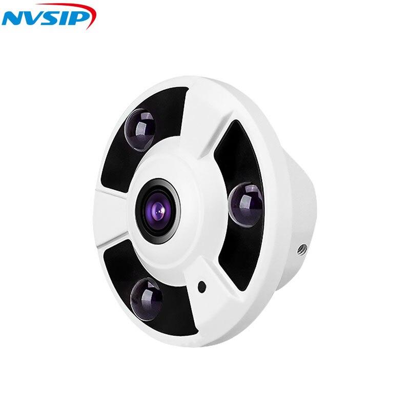 Image 3 - AHD CCTV камера 360 градусов широкоугольный Рыбий глаз панорамная камера AHD инфракрасная камера наблюдения купольная камера безопасности-in Камеры видеонаблюдения from Безопасность и защита