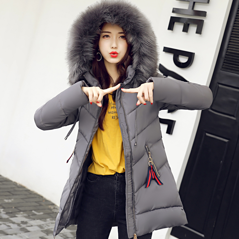 KUYOMENS 2017 Winter Jacket Women Casacos Inverno Feminino Thickening Cotton Hooded Parka For Women Winter Coat Chaquetas Mujer plus size thick winter long jacket women coat fur hooded parka jaqueta feminina chaquetas mujer casacos de inverno feminino 1846