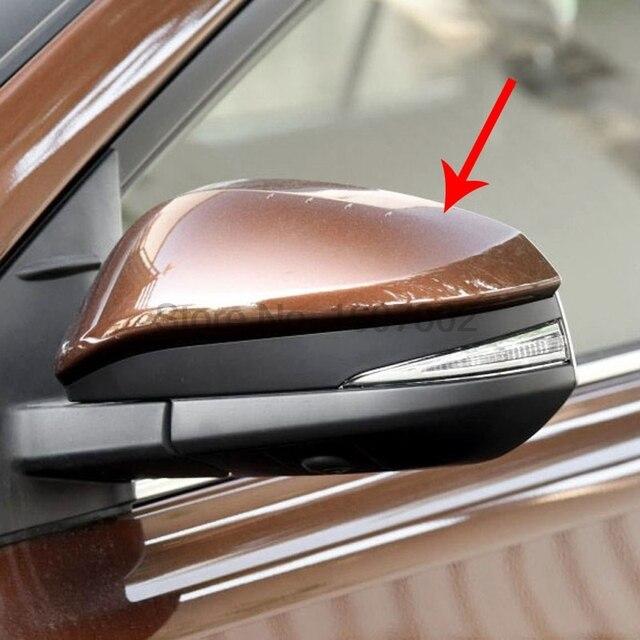 For Toyota Rav4 2016 2pcs Chrome Car Exterior Side Door Rearview