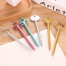 0.38mm Creative Gel Pen Cute Key Shape with Refill Black Ink Stationery School Supplies dropshipping