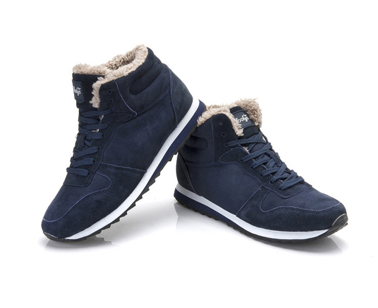 Plush Winter Suede Sneakers Unisex 6