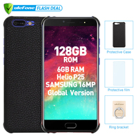 Ulefone T1 Premium Edition 6GB+128GB 5.5 FHD Helio P25 Octa Core Mobile Phone Fingerprint 4G Global version