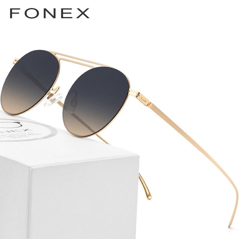 6e1c23ebf4 Detalle Comentarios Preguntas sobre Nylon sol polarizadas hombres 2018  famosos marca diseñador Ultra ligero sin tornillos gafas espejo redondo  Retro gafas ...