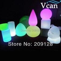 Alterar as cores de Plástico à prova d' água controle remoto CONDUZIU a Lâmpada de Tabela VC B1636|lamp chart|lamp 18v|lamp charm -