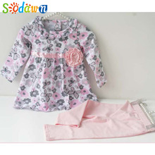 Baby Girls Clothes Floral Outfits Spring
