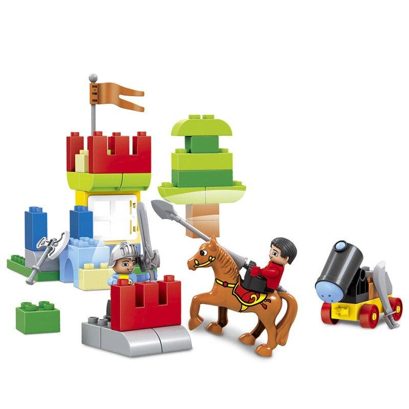 58pcs velika veličina dvorac carstvo nexo vitezovi građevni blokovi - Izgradnja igračke - Foto 2