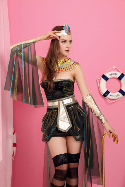 New Arrival sexy lingerie uniforms cosplay Classic Halloween Costumes  Cleopatra Egyptian pharaohs clothing sexy party dress bc93341bf55f