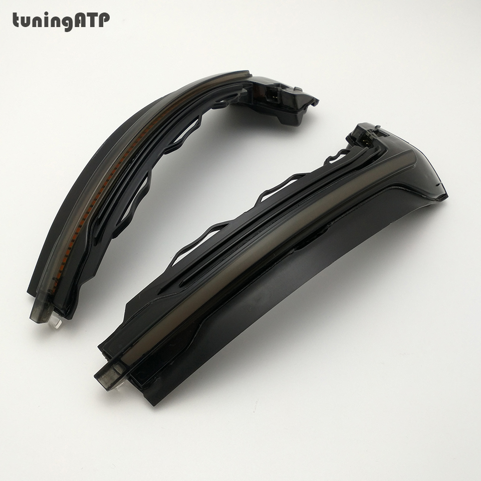 For Audi A3 S3 RS3 8V 2013 2019 Door Wing Mirror Dynamic Blinker Sequential Mirror Turn