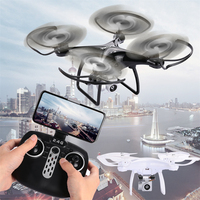 Lensoul WIFI FPV With Wide Angle HD Camera Drone High Hold Mode 3D Tumbling 360 Degrees