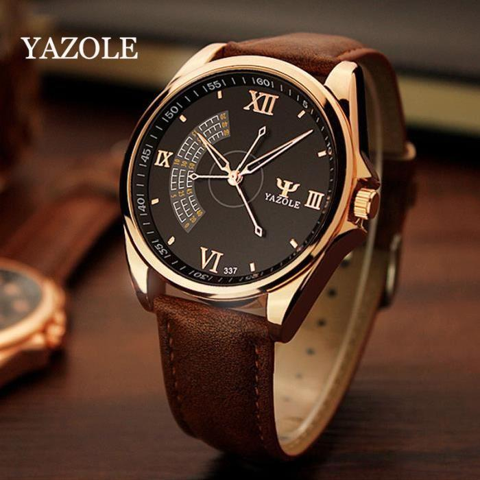 YAZOLE Business Quartz Watch Men Watches 2017 Wristwatches Male Clock Wrist Watch Mens Top Brand Luxury Famous Relogio Masculino xinge top brand luxury leather strap military watches male sport clock business 2017 quartz men fashion wrist watches xg1080