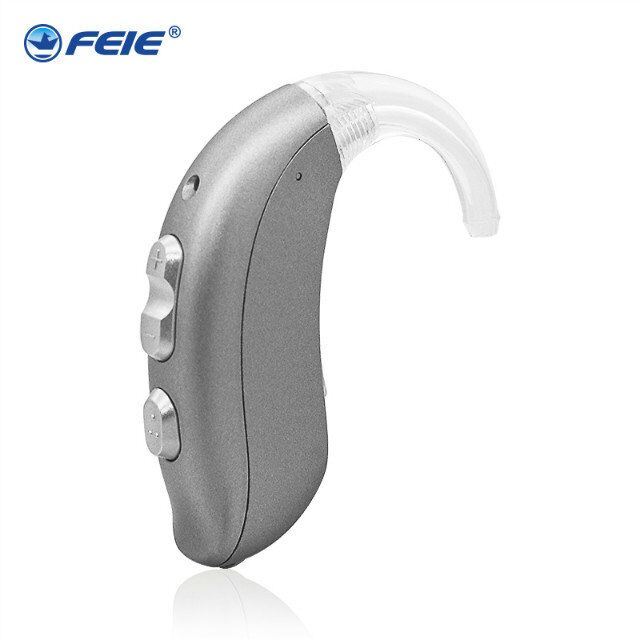 Hearing Aid Convenient Personal Sound Voice Amplifier Behind Ear Hearing Aids Hearing Device for the Deaf MY-22 hearing aid clear voice behind the ear hearing aids available aerophone volume adjustable deaf people ear caring newest device