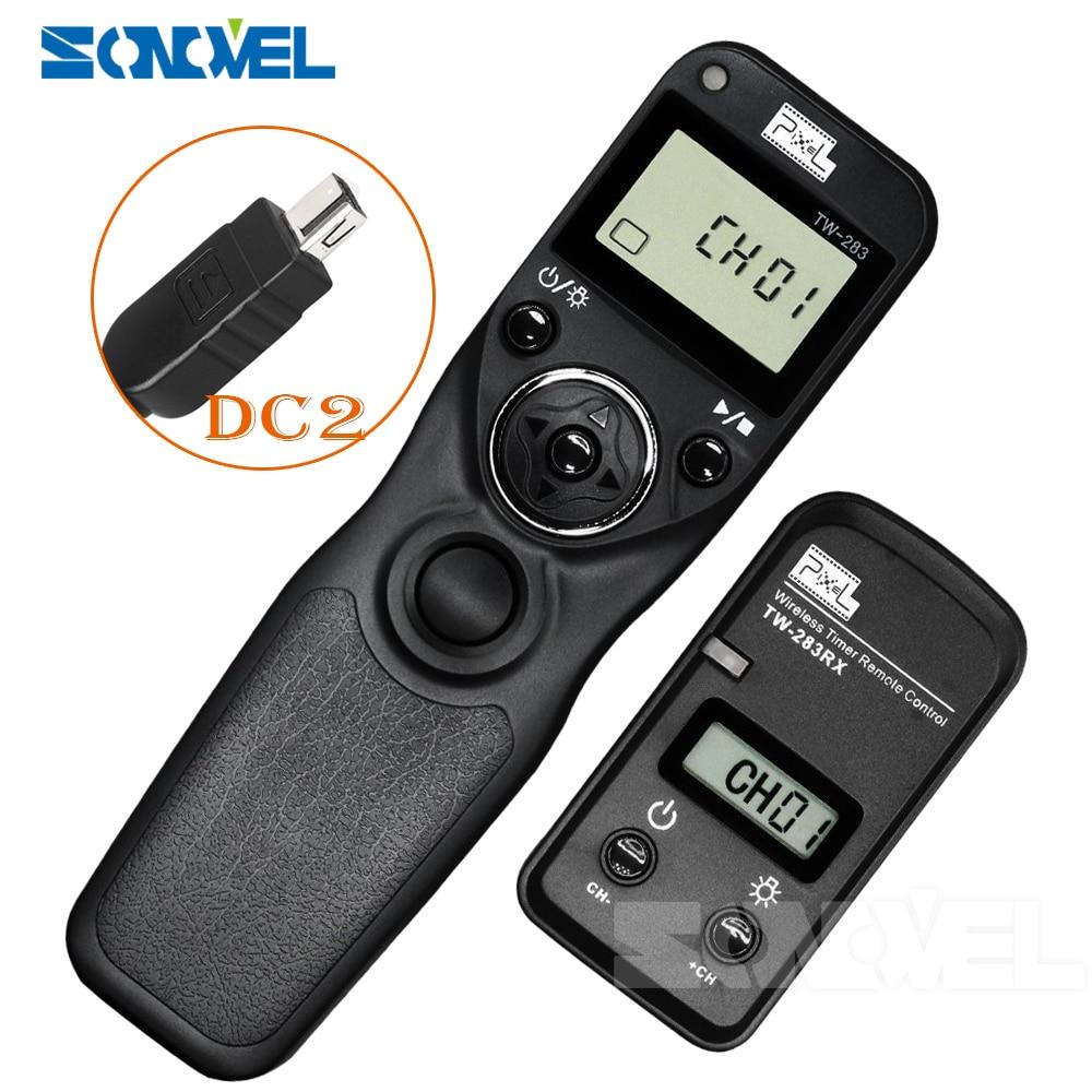 Pixel TW 283 DC2 Wireless Timer Remote Control Shutter Release For Nikon DSLR D7200 D7100 D7000