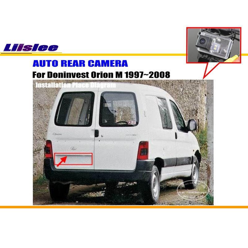 Liislee автомобиля Камера для Doninvest Orion M 1997~ 2008/заднего вида Камера/HD CCD RCA NTST PAL /поворотника Камера