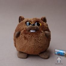 Cute Ball Plush Animals Toy Big Eye Beaver Doll Toys Baby Gifts