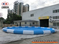 China Kids size pvc inflatable water pool for water bubble balls inflatable kids swimming