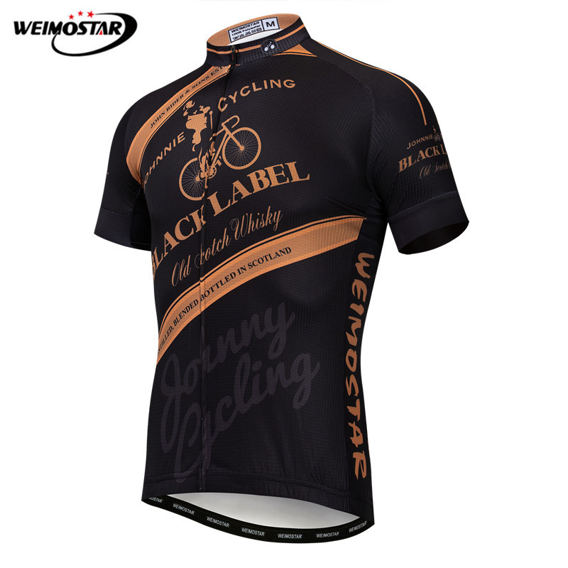 Weimostar Men Cycling Jersey 2019 Pro Tram Mountain Bike Clothing Maillot Ciclismo Summer Short Sleeve MTB Bicycle Jersey Shirt