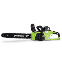 Brushless Electric Chainsaw 4000 mA Garden Wood Chainsaw 40V Rechargeable Garden Power Tools